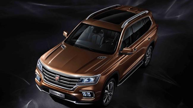 7座中大型SUV 荣威RX8官图发布 将于4月上市