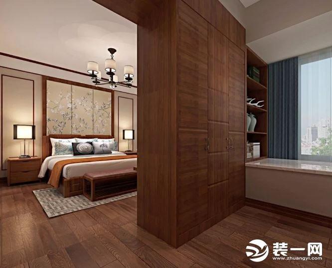 龙基传媒新城140平新中式风格装修设计卧室 更难能可贵的是设计师在空间布局上穿插了许多不一样的小细节,让整个端庄典雅的空间多了一丝丝灵动的气息,十分的精致细腻。 以上就是这款新中式风格装修案例的相关介绍了,如果您想要了解更多不同风格、不同户型的装修案例,专业的装修知识以及更多优秀的南宁装修公司,就请继续关注本网站吧!