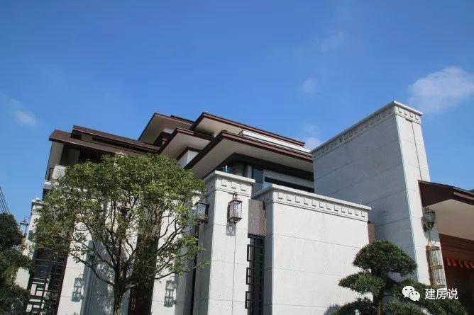湖南和广东2栋新中式别墅实拍, 任何一栋都超过欧式洋房