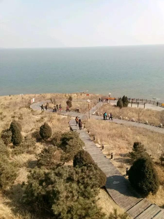 辽宁葫芦岛龙回头景区初春行,海风送暖春意满满