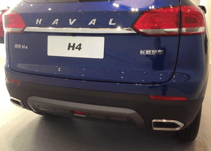 哈佛H4蓝标版最新靓照, 对手锁定CS55和荣威RX3!