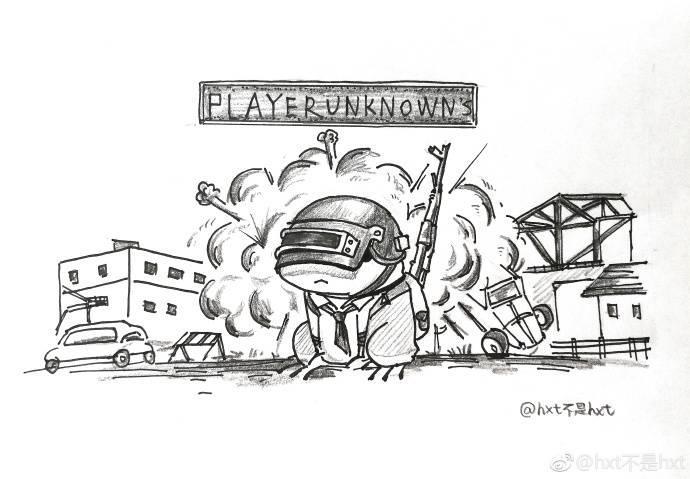 旅行青蛙漫画图集 蛙儿子也吃鸡|绝地求生|青蛙|漫画