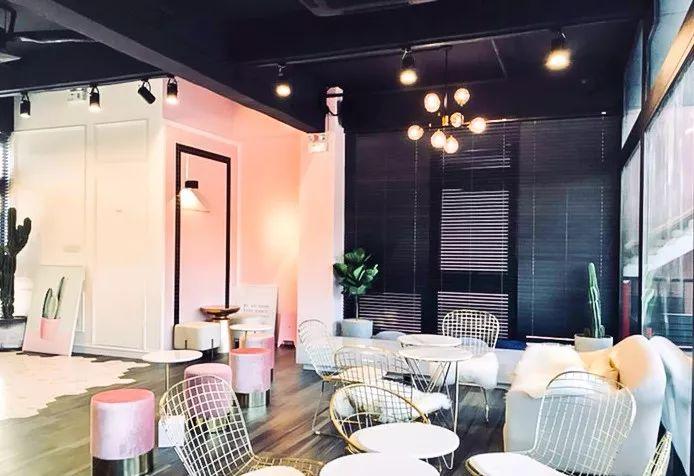 粉粉粉!深圳最适合拍少女的网红咖啡店,大片心强印旺身女生图片