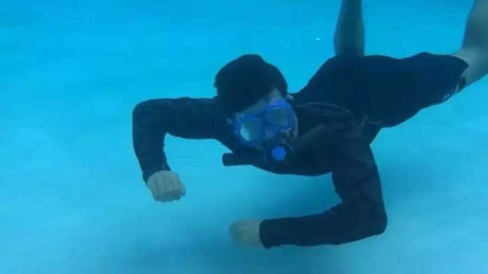 韩国设计师发明人造鱼鳃, 能在水里呼吸45分钟