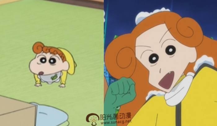 """《蜡笔小新》""""小时候与对比后""""的长大,果然还是小葵比较帅气!狗与漫画图片小孩图片"""