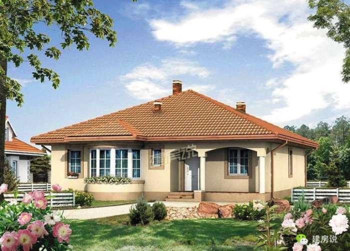 精选两套带壁炉的农村别墅,适合北方建,尤其是第二套