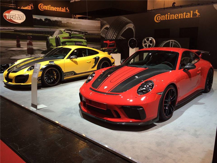 911 GT3 TechArt套件德国埃森展首发