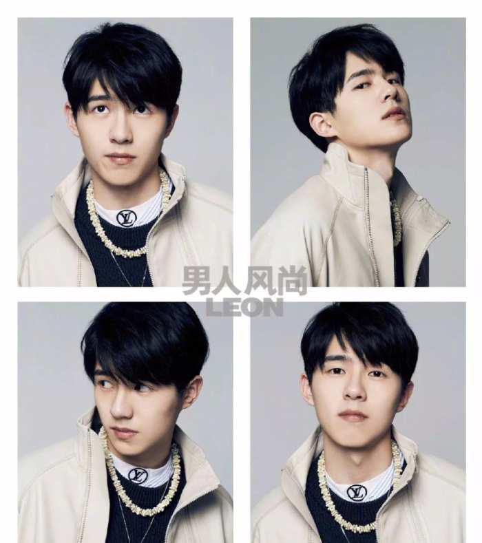 三七分斜刘海 蓬松发量处理 干净青年风 这10款风格迥异的男士发型中图片