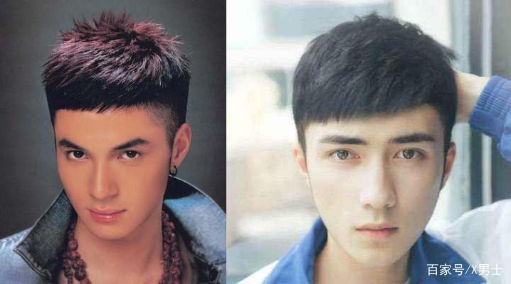 男生发际线高?春节剪这3款发型帅到爆!图片