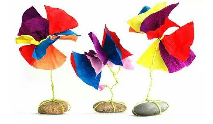 新年幼儿园创意手工花,父母参与起来更有趣