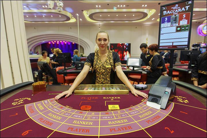 赌场一直都是许多有钱人或者游客最喜欢的娱乐场所,而就在俄罗斯的一