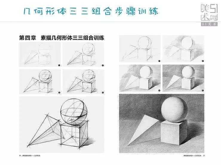 """/// 51 美 术 高 考 网 权威 高效 /// 想学画画零基础该从哪里入手? 两个途径,建议同时学 """"前言 1、进行绘画基础素描训练 2、找自己喜欢的作品临摹训练 基础训练很重要。 一,素描主要目的是训练绘画的观察方法与表达方法必须先学会如何理解眼睛所看到的事物并用画笔表现出来。熟练掌握规律之后,才有能力自由表达自己脑海中想表达的一切。 二,找自己喜欢的优秀作品临摹,是为了巩固自己的兴趣,因为素描基础训练有可能会比较枯燥,所以用自己喜欢的作品来进行调剂。同时学会将自己从素描训练中习得的知识点与绘画"""