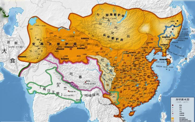 怛罗斯之战大唐帝国败给阿拉伯帝国