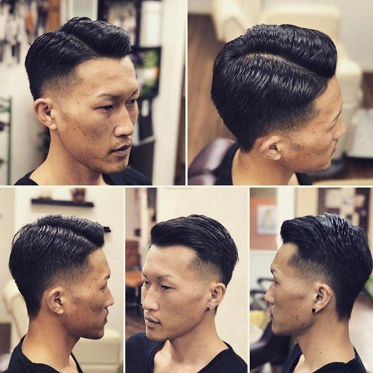男生塑形烫烫发发型,卷与直都可以图片