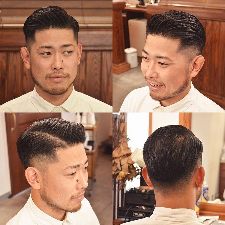 10款男生最火的渐变背头,油头发型,今年就流行这样剪
