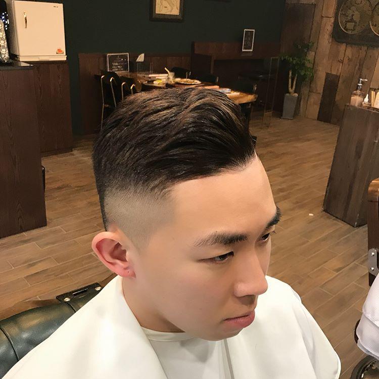 潮流男生2018必备的复古发型图片