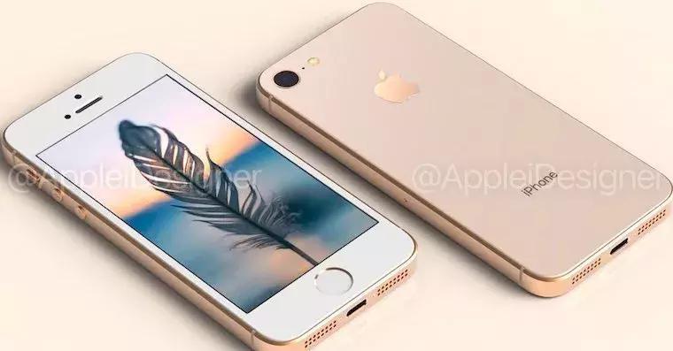 新款iphone se 没跑了, 双面玻璃设计, 明年春季登场
