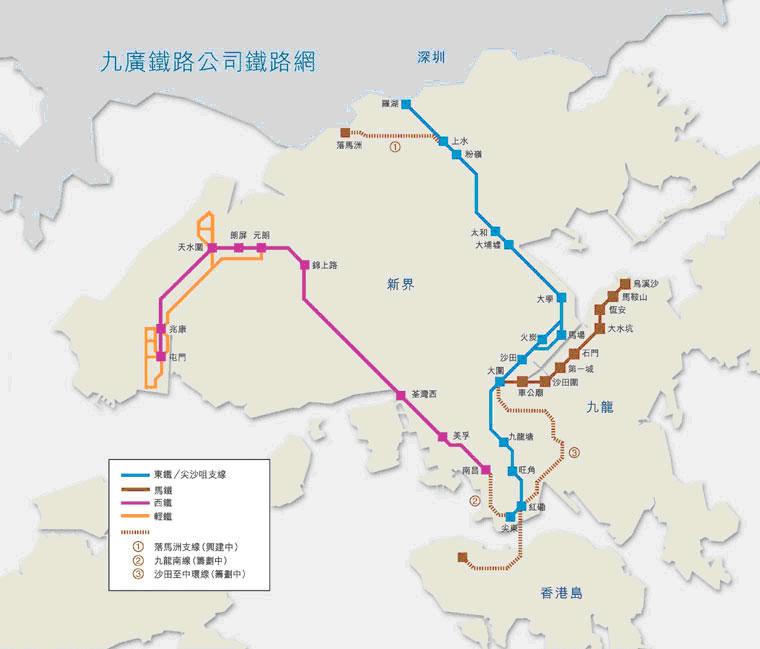 解密香港地铁冷知识