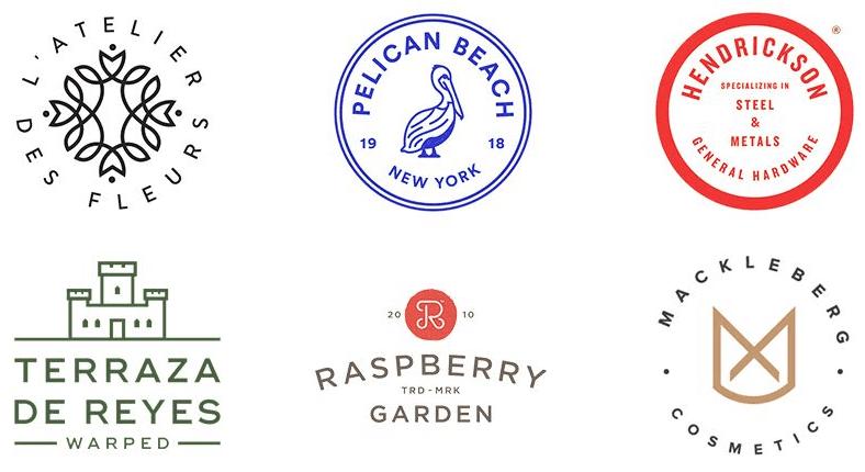 设计分享 | 2018年10个logo设计趋势图片