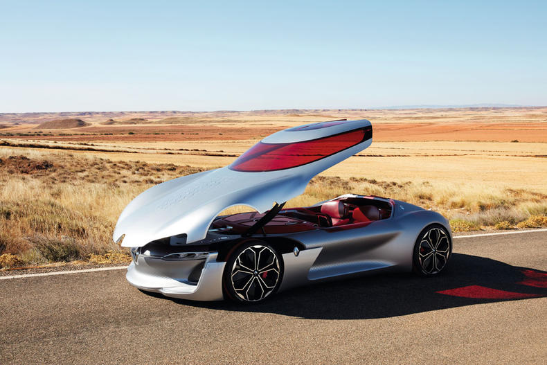 前卫设计科幻内饰,开门方式很特别,堪称未来的撩妹神车!