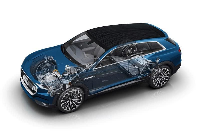 全新一代奥迪Q6,轿跑风范动力十足!