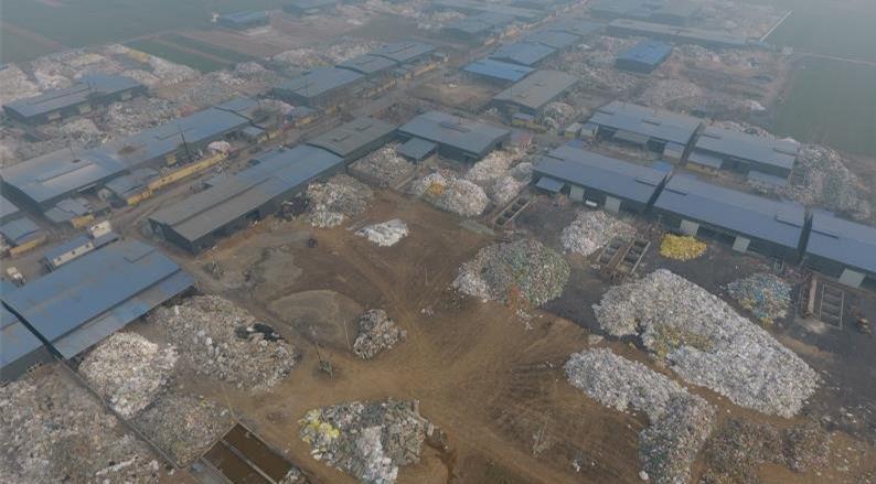 河南禹州:小吕乡粒子产业园排放有毒废水