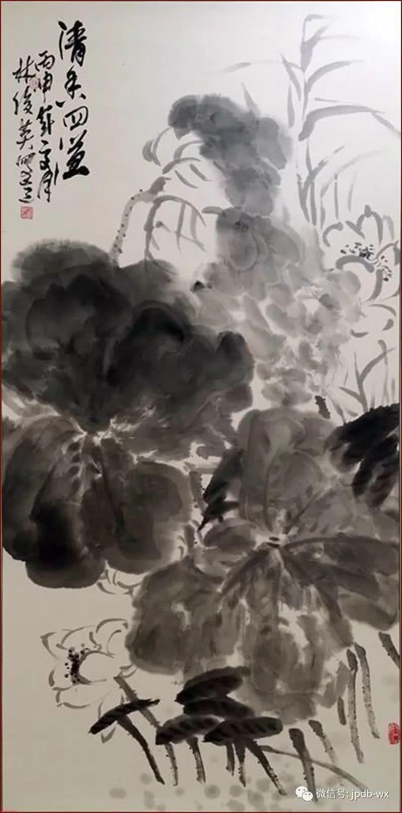 石家庄日报社书画院签约艺术家作品鉴赏系列——林俊英图片