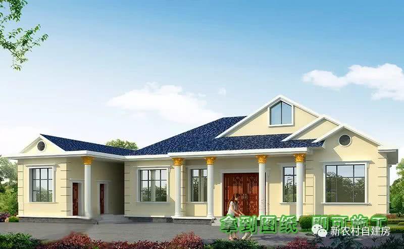 6款别墅别墅设计图,带v别墅厨房有柴火灶,开春建房涵义农村不用的图片