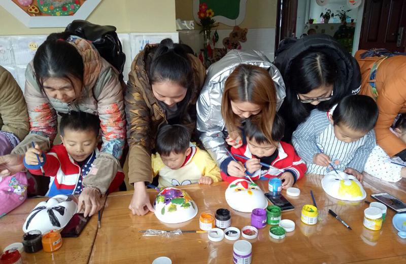 四川岳池:第二幼儿园举行家长半日开放活动