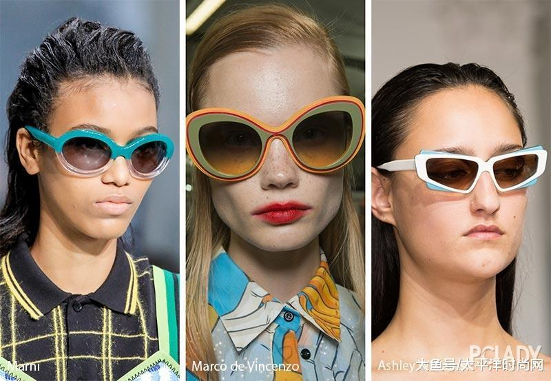 """2018流行的墨镜又""""丑""""又奇葩, 可戴在脸上却时髦的出图片"""