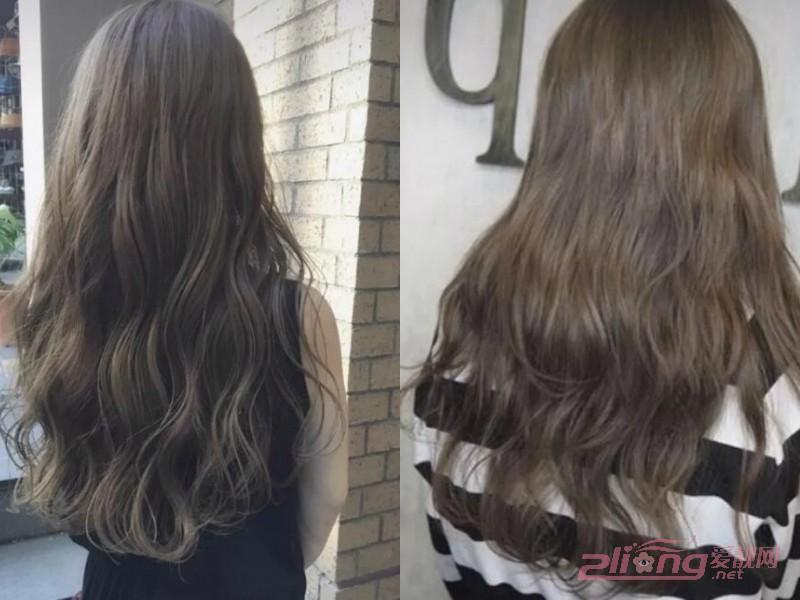 还是亚麻棕褐色的头发颜色这种头发颜色的百搭还显肤色白的而且