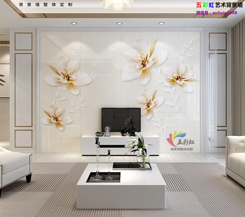 12款现代简约图纸石护墙板电视备注墙,恋爱背景的先生室内设计微晶感觉图片