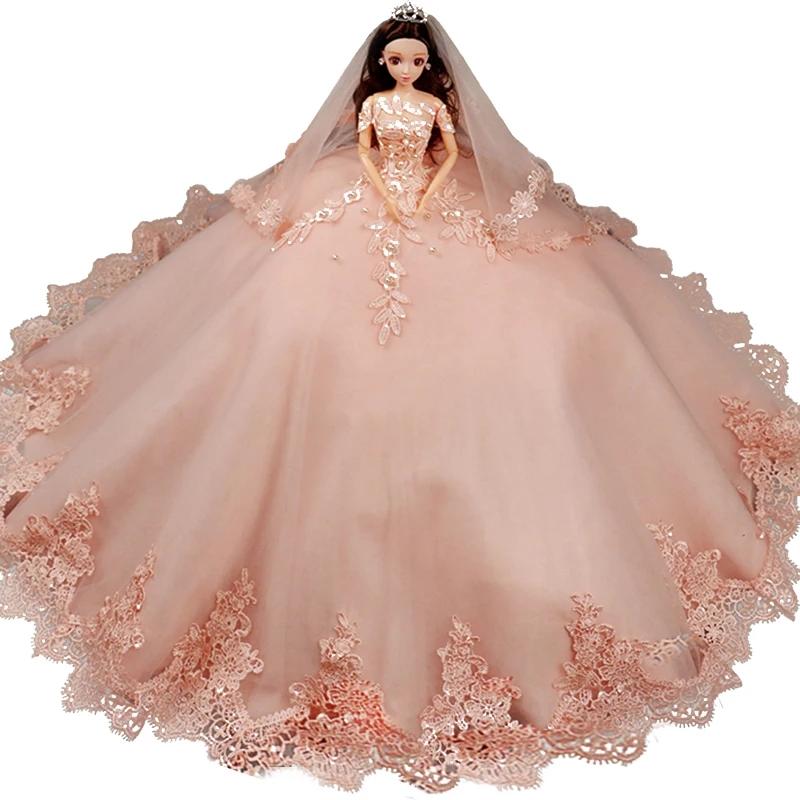 十二星座创意彩色婚纱芭比娃娃,水瓶座的复古,双鱼座的唯美