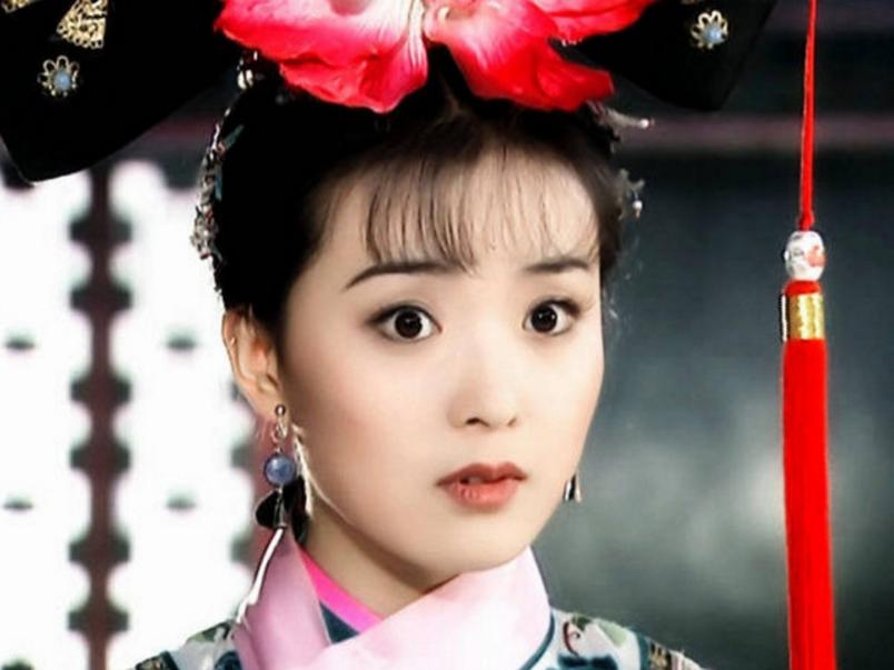 王艳饰演的晴儿小表情好可爱,最后一张曾被夸哭起来最图片