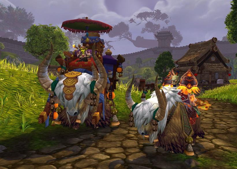 魔兽世界实用性最高的5大坐骑,8.0升级了解一下!