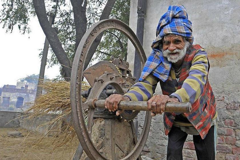 宝刀不老老年风采3_印度年过90岁老人\