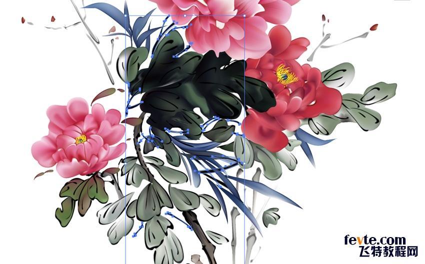 中国画是具有悠久历史的中国民族传统绘画,它以其鲜明的特色和风格在各个画派中独树一帜。当欧洲老一辈的大师们对果盆和造型模特的细节呈现小心翼翼、情有独钟时,中国的大师们则专注于主要的三类主题上:人物、山水以及花鸟。今天,我们就来绘制后者。 你会发现在该作品中没有背景颜色,那是因为在中国艺术中,留白也是非常重要的。跨时代的伟大国画画家常常也是拿捏虚实藏露原则的高手。虚实藏露,换句话说,就是懂得什么该被直观画出,什么该留给观者想象,什么该被展现出来,什么该被暗示而不显露。 我们今天的设计对象是牡丹中国的十大名花