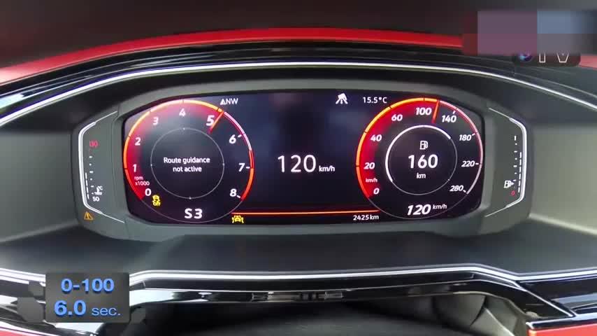 烧胎起步!2018 大众Polo GTI <em>0-100</em> km_h<em>加速</em>