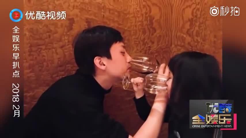 邓超和小花喝完交杯酒 求教粉丝给她梳头