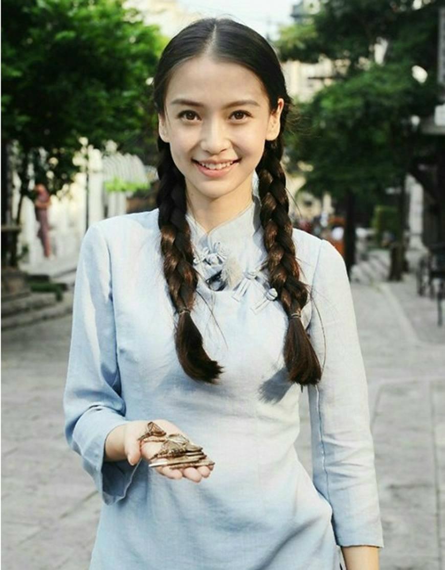 澳门赌场注册:民国服饰的八大女神,赵丽颖美出天际