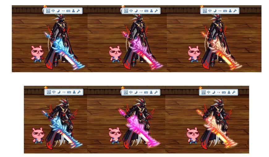 dnf70鬼剑士武器_dnf鬼剑士专属武器装扮来袭, 15外观帅炸!