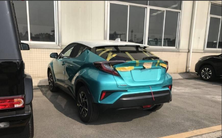 偶遇丰田CHR国产版,迄今为止最帅丰田终于要来了,仅售12万