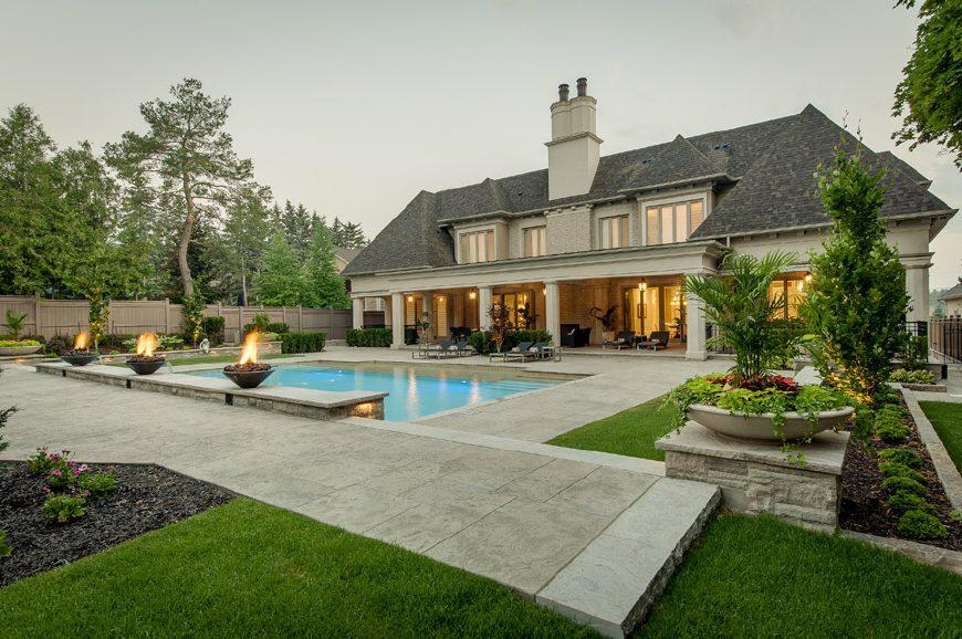 农村自建法式城堡别墅好像, 没有200万预算千万别看图片