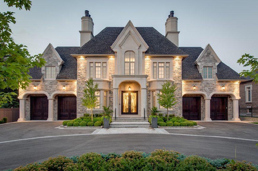 农村自建法式城堡别墅好像, 没有200万预算千万别看