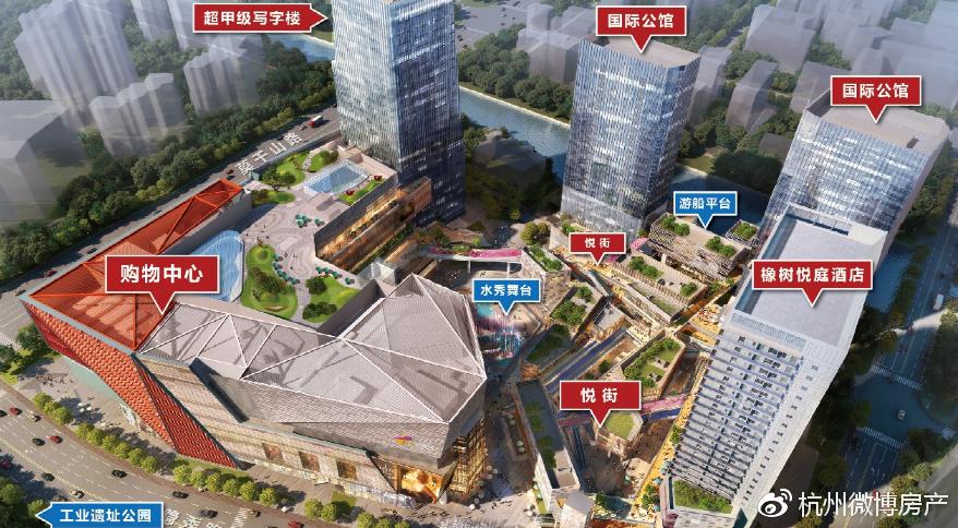 大悦城写字楼整售一锤定音,力夺杭州主城区成交冠军