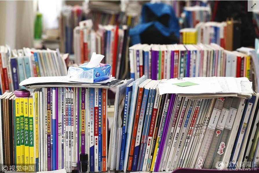 太原某高中教室v高中百日倒计时书馆备战学生如图教室高中昌平区分数线图片