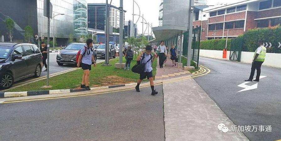 新加坡的国际学校外惊现诱拐女童事件