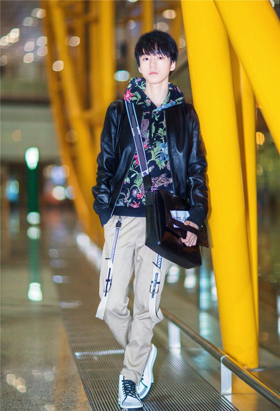 王俊凯同款衣服卫衣