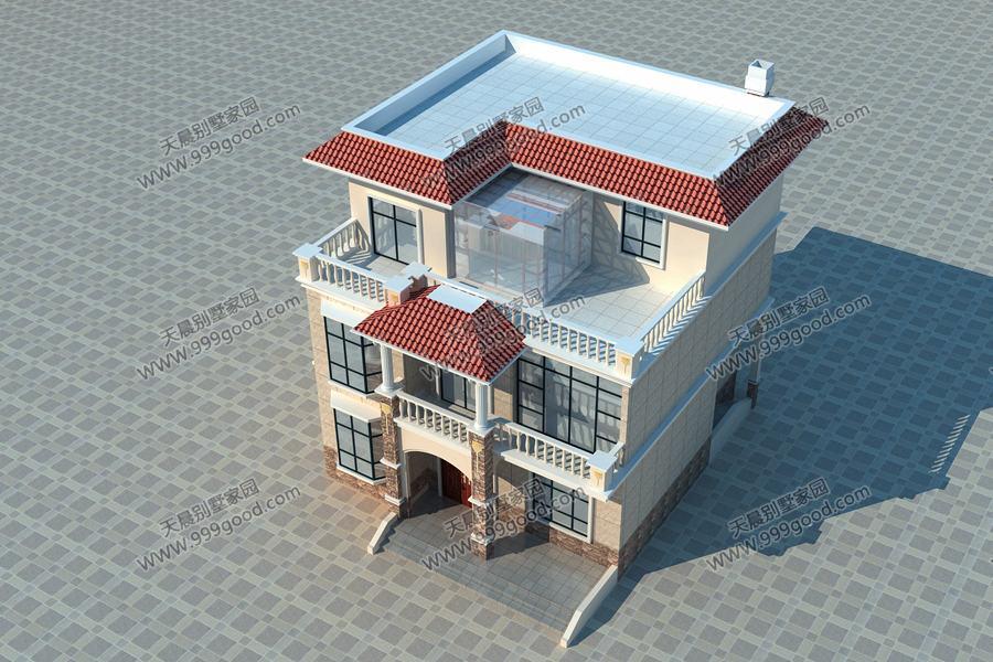5x11米造价30万农村别墅,给个城里三居室也不换!带