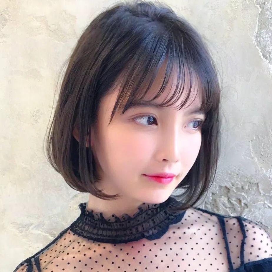 2018年春季日本流行的18款短发!这样的发型真是美出了